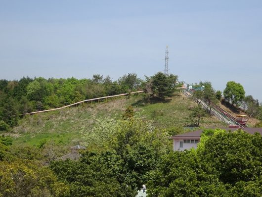 蜂ヶ峯総合公園 ローラー滑り台