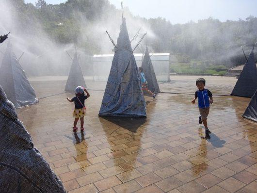 備北丘陵公園 シャワー