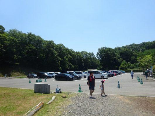 備北丘陵公園 第7駐車場