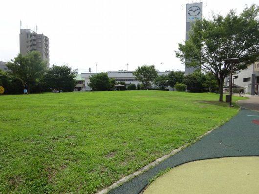 新宮中央公園 芝生広場