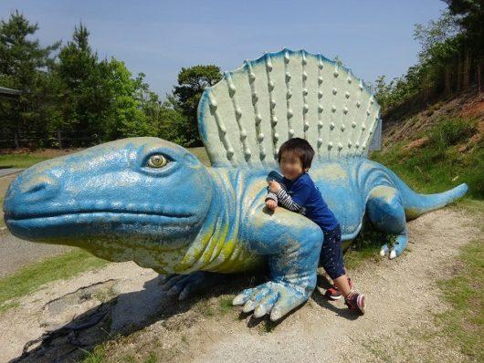 蜂ヶ峯総合公園 恐竜の森