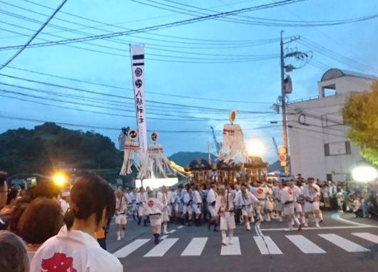 尾道土曜夜店 祇園祭