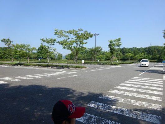 備北丘陵公園 第1駐車場