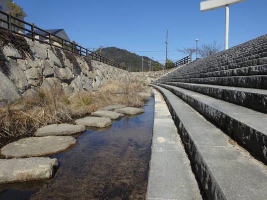 春日野中央公園 親水空間