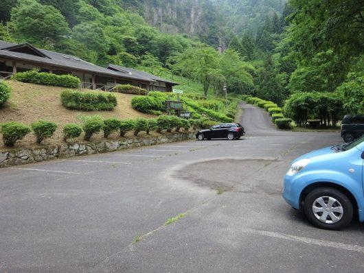龍頭峡 駐車場