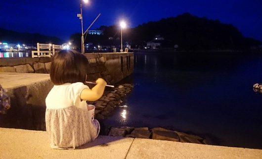尾道土曜夜店 海岸沿い