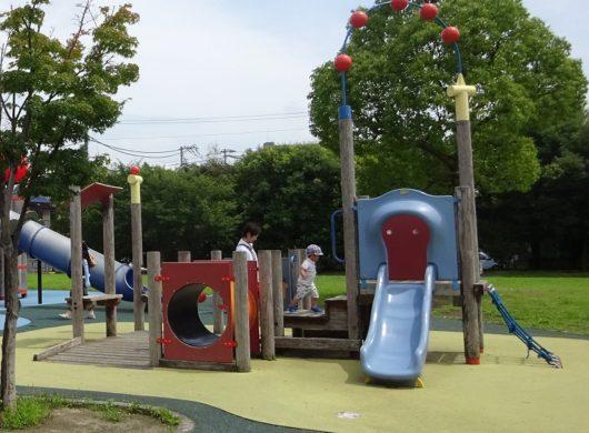 新宮中央公園 大型遊具 (3)