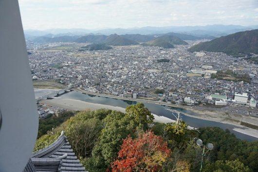 岐阜城 景色