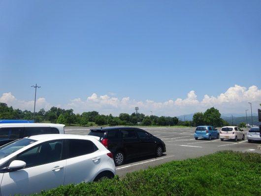 備北丘陵公園 第5駐車場