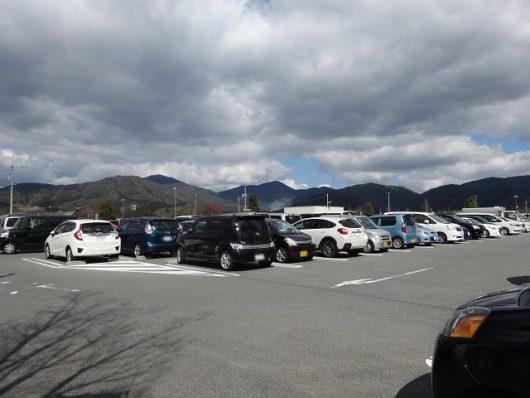 湖畔の里 福富 駐車場