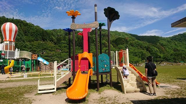のどごえ公園 小さい子用の遊具