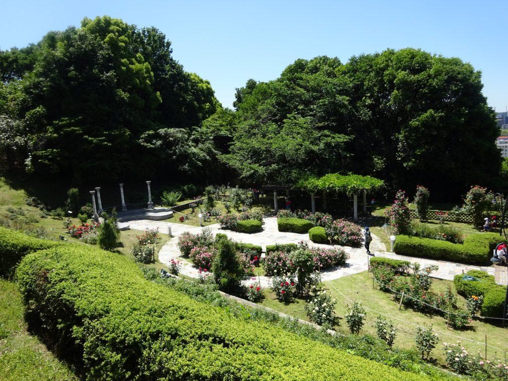 牛田公園 庭園